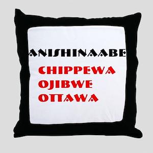 ANISHINAABE Throw Pillow