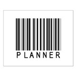 Planner Barcode Small Poster