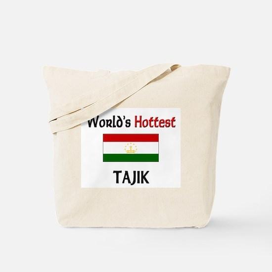 World's Hottest Tajik Tote Bag