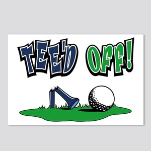 Funny Golf Gifts Postcards (Package of 8)