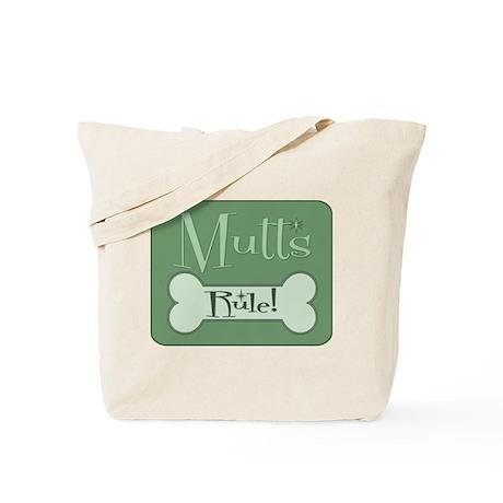 Mixed Breed Dog Tote Bag