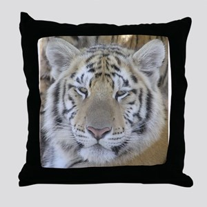 Tiger Portait Throw Pillow