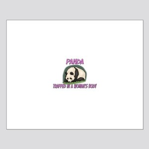 Panda Trapped In A Woman's Body Small Poster