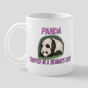 Panda Trapped In A Woman's Body Mug
