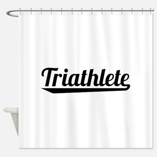 Triathlete Shower Curtain