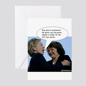 Hillary Clinton Greeting Cards (Pk of 20)