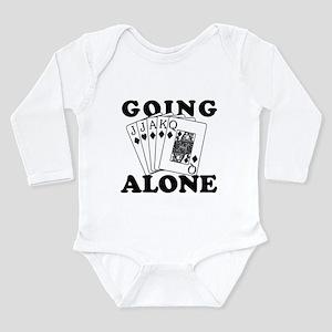 Euchre Going Alone/Loner Infant Bodysuit Body Suit