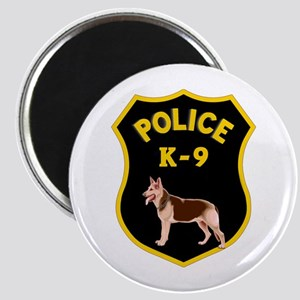 K9 Police Officers Magnet
