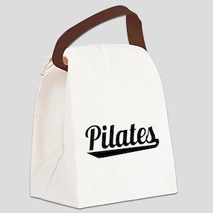 Pilates Canvas Lunch Bag