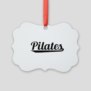 Pilates Picture Ornament