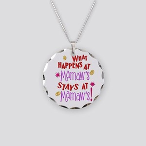 what happens at mamaws Necklace Circle Charm