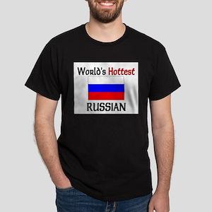 World's Hottest Russian Dark T-Shirt