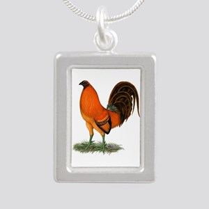 Gamecock Ginger Red Rooster Necklaces