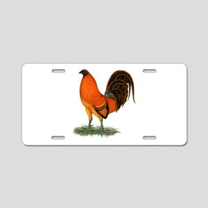 Gamecock Ginger Red Rooster Aluminum License Plate