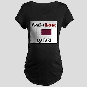 World's Hottest Qatari Maternity Dark T-Shirt