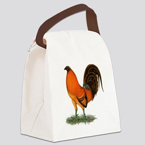 Gamecock Ginger Red Rooster Canvas Lunch Bag