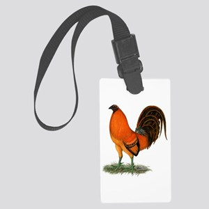 Gamecock Ginger Red Rooster Large Luggage Tag
