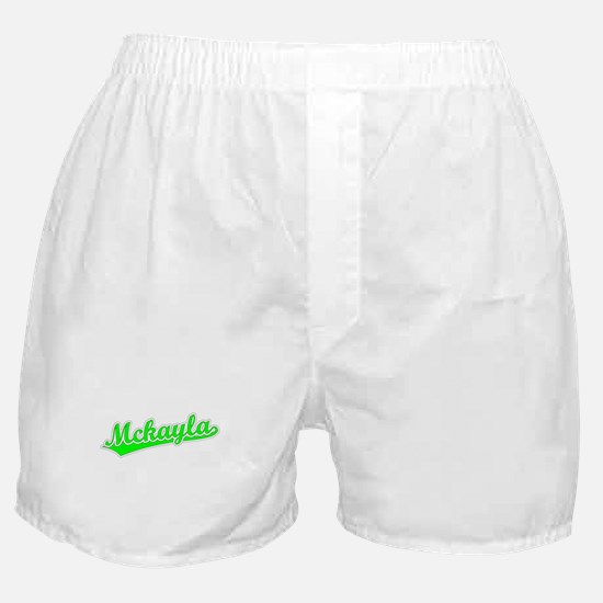 Retro Mckayla (Green) Boxer Shorts