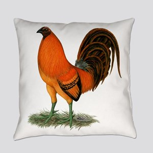Gamecock Ginger Red Rooster Everyday Pillow