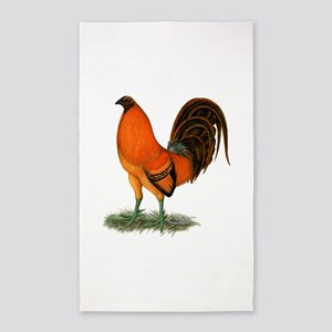 Gamecock Ginger Red Rooster Area Rug