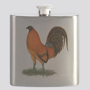 Gamecock Ginger Red Rooster Flask