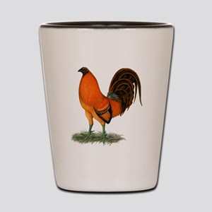 Gamecock Ginger Red Rooster Shot Glass