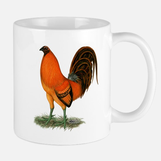 Gamecock Ginger Red Rooster Mugs