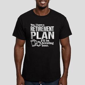 Brewing Beer Retirement Plan T-Shirt