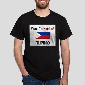 World's Hottest Filipino Dark T-Shirt