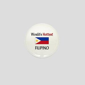World's Hottest Filipino Mini Button