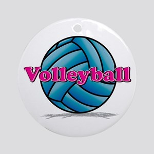 Volleyball Ornament (Round)
