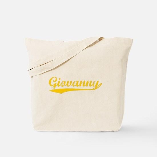 Vintage Giovanny (Orange) Tote Bag