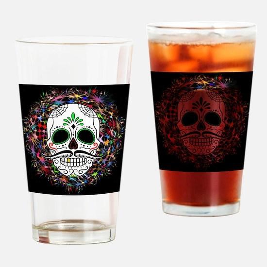 Skull20170396 Drinking Glass