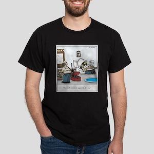 Plumber's Crack Intimate Apparel Cart Dark T-Shirt