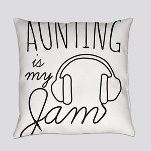 Aunting Is My Jam Everyday Pillow