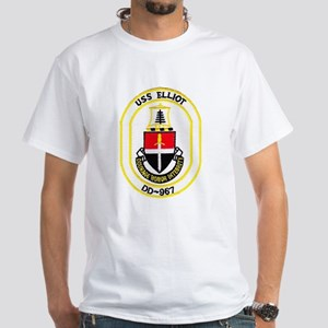 USS ELLIOT Women's Dark T-Shirt