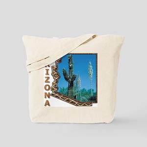 Arizona Saguaro Cactus Tote Bag