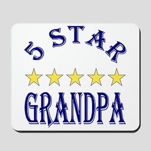 5 Star Grandpa Mousepad