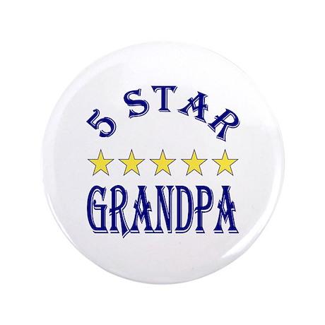 """5 Star Grandpa 3.5"""" Button"""