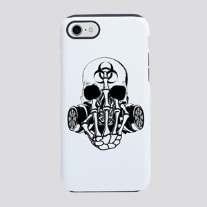 Biohazard Zombie Skull Fuck U iPhone 8/7 Tough Cas
