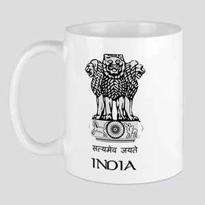 Emblem of India Mug