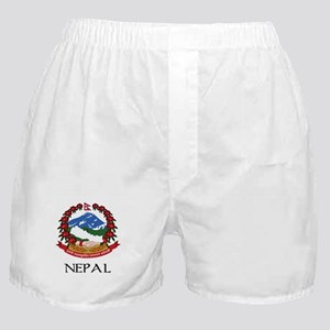 Nepal Coat of Arms Boxer Shorts