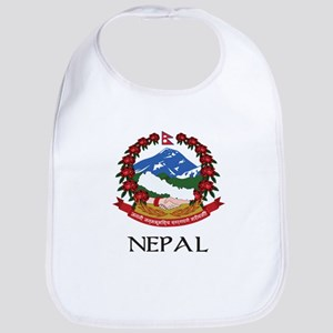Nepal Coat of Arms Bib