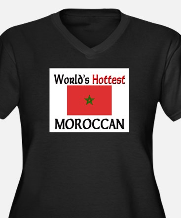 World's Hottest Moroccan Women's Plus Size V-Neck