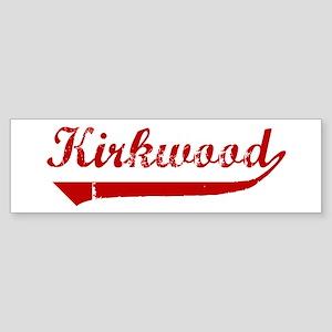 Kirkwood (red vintage) Bumper Sticker
