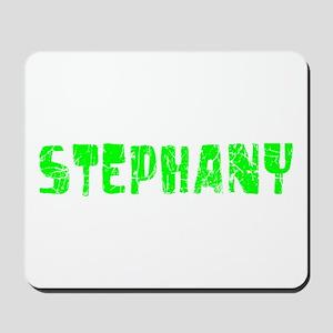 Stephany Faded (Green) Mousepad