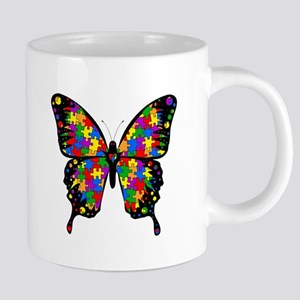 Autism Butterfly Stainless Steel Travel Mugs