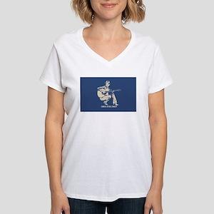 kumbaya-mfer-OV Women's Cap Sleeve T-Shirt