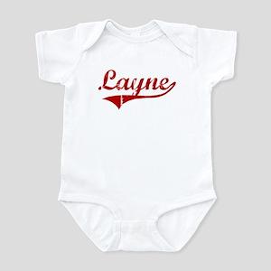 Layne (red vintage) Infant Bodysuit