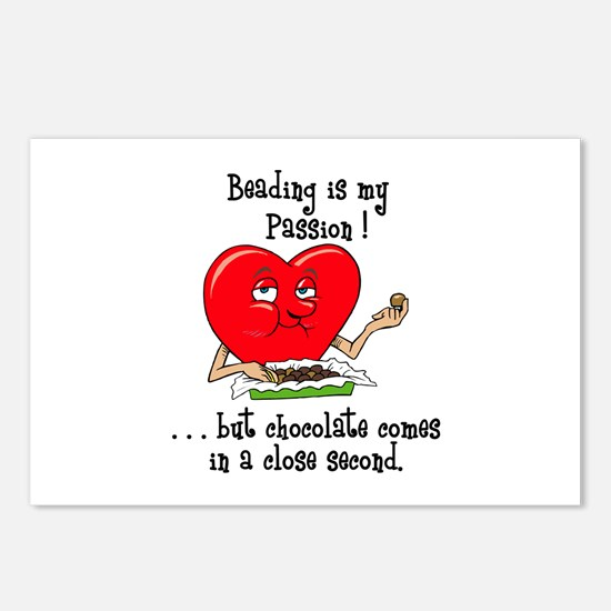 Beading and Chocolate Postcards (Package of 8)